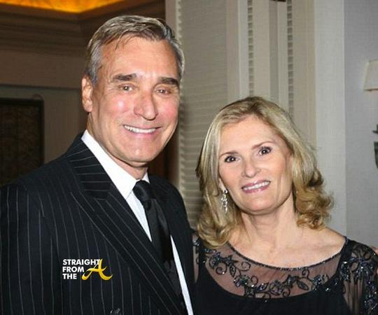 Ông Patrick Snay và vợ. Ảnh: Straight Form The A