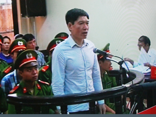 Dương Tự Trọng nói gia đình tin anh trai Dương Chí Dũng vô tội - Ảnh chụp qua màn hình