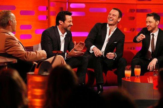 Hugh Jackman cùng bạn bè trong chương trình truyền hình