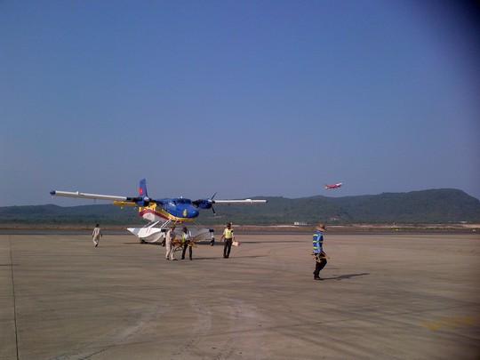 Thủy phi cơ xuất phát ngay sau cuộc họp triển khai kế hoạch trong ngày