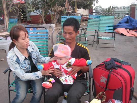 Gia đình nhỏ của tài xế Hồ Kim Hậu