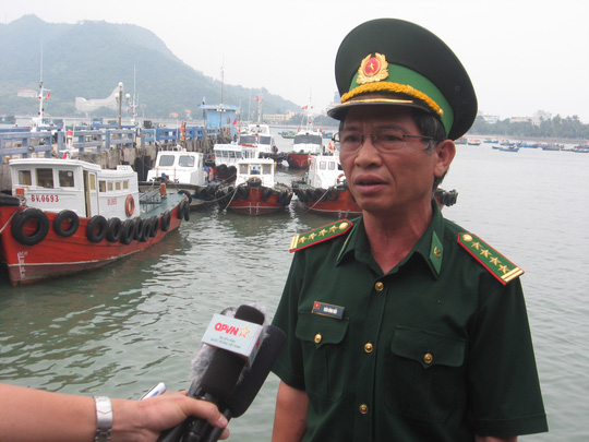 Đại tá Trần Công Hiểu, Chỉ huy trưởng Bộ đội biên phòng tỉnh Bà Rịa- Vũng Tàu thông báo về việc