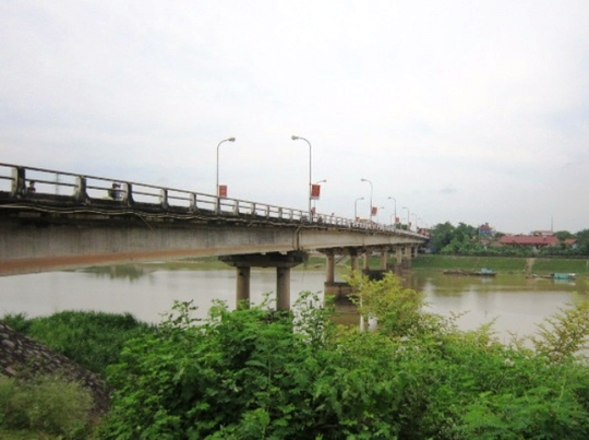 Cầu Vạn Hà nơi thiếu nữ nhảy cầu tự tử