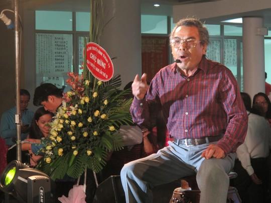 Tiết mục của nhà thơ Quang Chuyền...