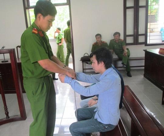 Bị cáo Dương Văn Thành tại phiên xét xử ngày 22-7