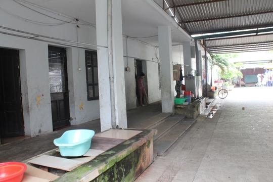 Một góc nhà nuôi trẻ của chùa Bồ Đề