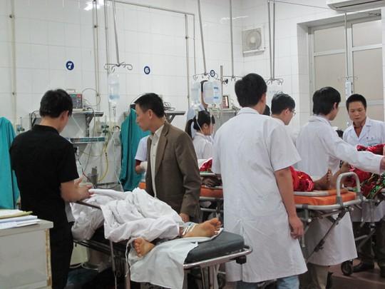 Nhiều bệnh nhân nặng, đa chấn thương sau TNGT