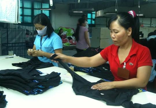 Năng suất lao động của công nhân Việt Nam cón thấp so với các nước trong khu vực
