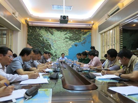 Ban chỉ đạo PCLB Trung ương họp bàn và triển khai các biện pháp ứng phó trước khi bão số 2 đổ bộ vào đất liền vào trưa mai 19-7