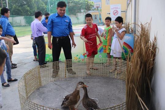 Các trò chơi tại Ngày hội bánh tét Tân Bình