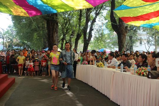 Hội thi thu hút rất đông khán giả theo dõi
