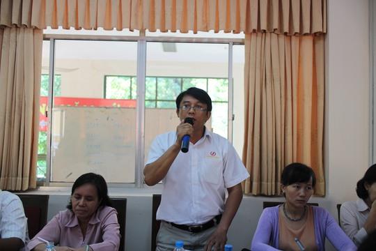 Đại diện Công ty Việt Nam Samho cho biết nhà trẻ tại công ty gặp nhiều khó khăn do không đáp ứng quy định