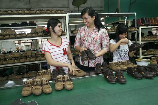 Bà Phan Thị Minh Thu, Chủ tịch CĐ Công ty Tích Hanh (quận Bình Tân, TP HCM) là một cán bộ nữ công tiêu biểu tại TP HCM