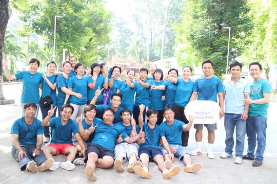 CNVC-LĐ Tổng Công ty Cấp nước Sài Gòn trước giờ thi đấu