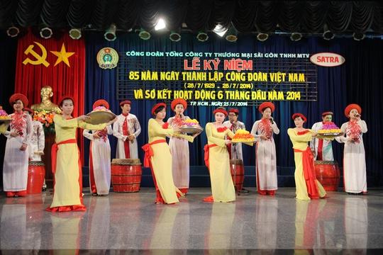 Chương trình họp mặt của Công đoàn Tổng Công ty Thương mại Sài Gòn