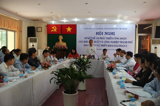Chủ tịch Tổng LĐLĐ Việt Nam Đặng Ngọc Tùng phát biểu tại buổi làm việc