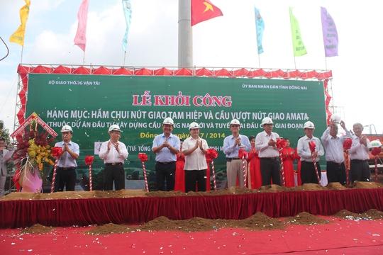 Những điểm nóng giao thông tại Đồng Nai, ngã tư Amata, vòng xoay Tam hiệp sẽ có hầm chui và cầu vượt