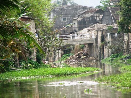 Khúc sông nơi xảy ra vụ chết đuối thương tâm