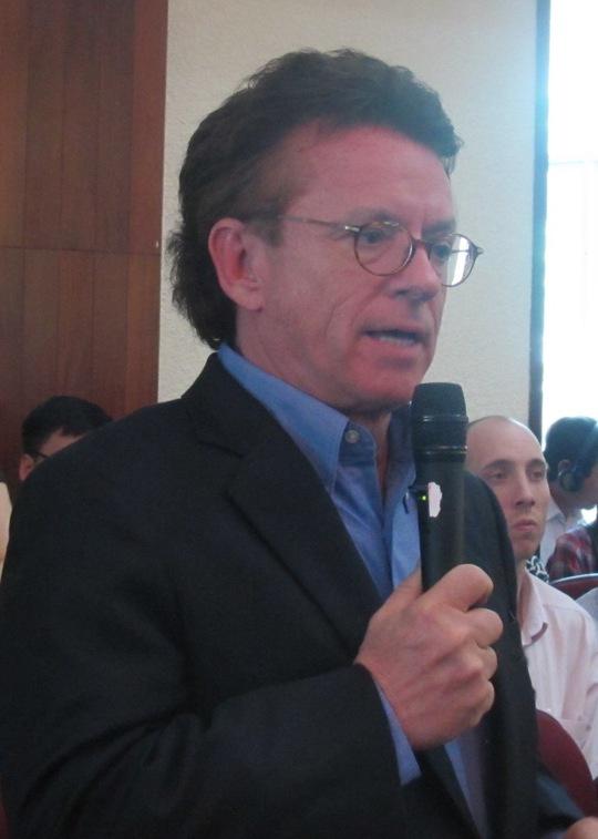 Ông Greig Craft, Chủ tịch Quỹ Phòng chống thiên tai Châu Á - Ảnh: Văn Duẩn