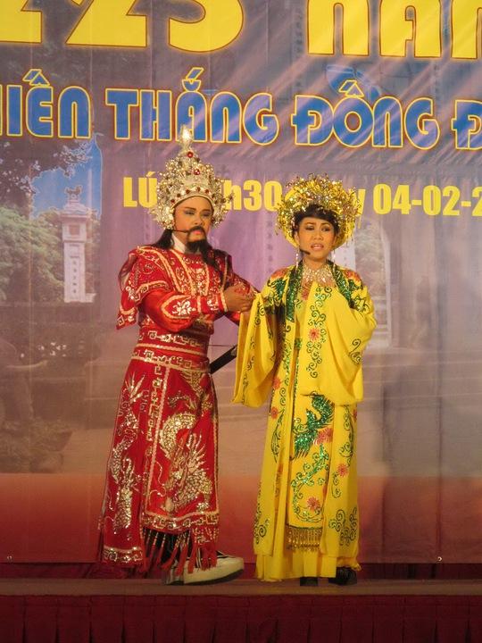 Lễ hội khẳng định lịch sử đất nước luôn được người dân Việt bảo vệ bằng sự đoàn kết, tinh thần thượng võ