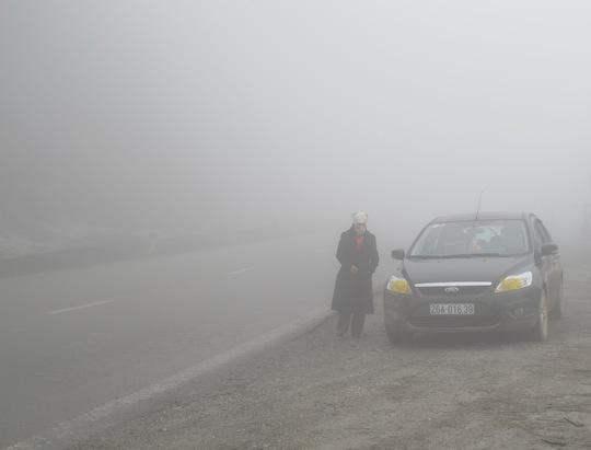 Sương mù trên đỉnh Thung Khe - tỉnh Hòa Bình