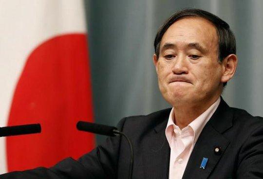 Yoshihide Suga, Chánh văn phòng Nội các Nhật Bản. Ảnh: Reuters