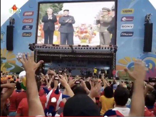 Nhà lãnh đạo Kim Jong-un xuất hiện trong đoạn video. Ảnh: Independent
