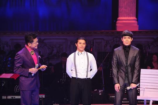 Kasim và Nathan Lee trong đêm liveshow 7 Chinh phục đỉnh cao. Ảnh: Lý Võ Phú Hưng