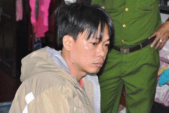 Lưu Tấn Hưng, một trong những đối tượng cầm đầu đường dây tổ chức đánh bạc qua mạng internet bị công an bắt giữ.