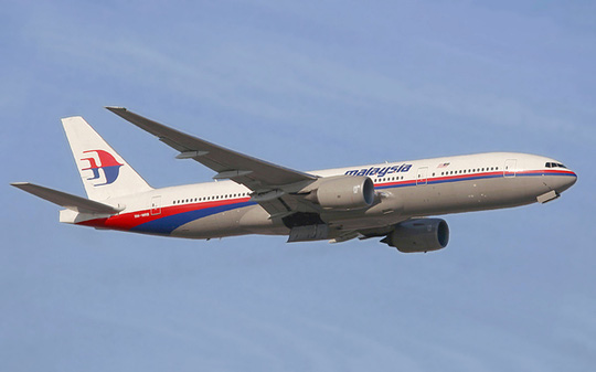 Máy bay Boeing 777-200 ER của Malaysia Airlines - Ảnh minh họa