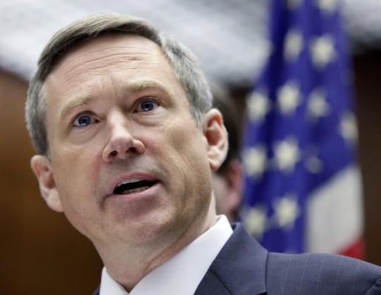 Thượng nghị sĩ Mark Kirk cho rằng bà Obama sẽ giành ghế của ông vào năm 2016. Ảnh: Libertarian Republican