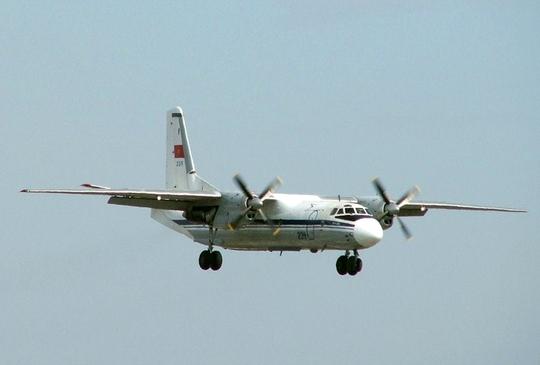 Máy bay AN26 được huy động để tìm kiếm máy bay của Malaysia mất tích