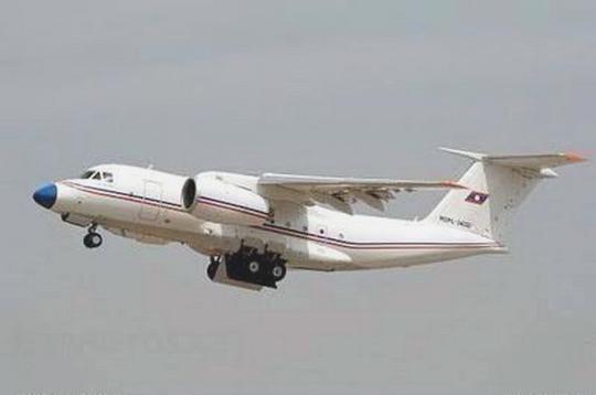 Máy bay quân sự Lào gặp tai nạn là loại An-74 - Ảnh: KPL