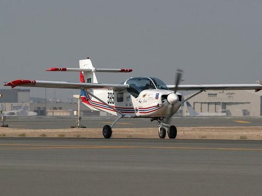 Máy bay MFI-17 Mushshak của Pakistan. Ảnh: AP