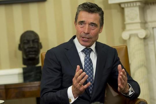 Tổng thư ký Tổ chức Hiệp ước Bắc Đại Tây Dương (NATO) Anders Fogh Rasmussen. Ảnh: UPI
