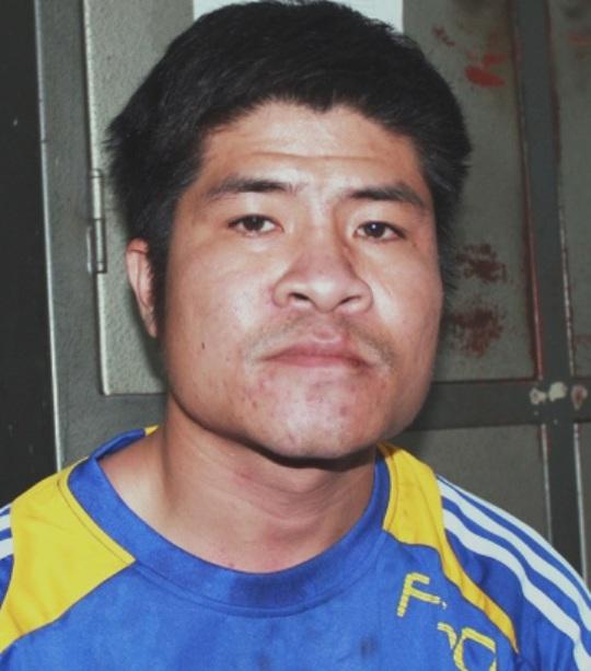 Vũ Quang Duy sau khi bị bắt tại cơ quan công an