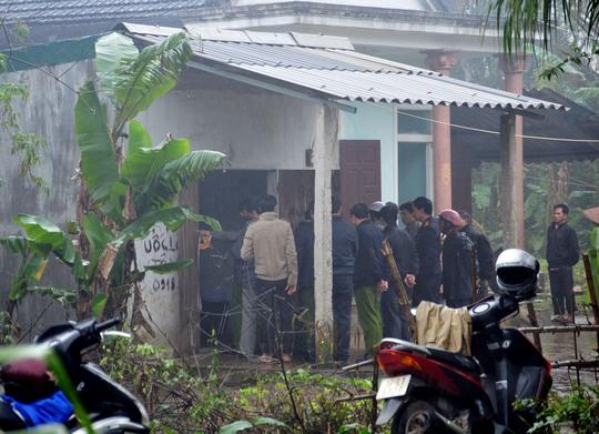 Ngôi nhà của cụ Mai Thị Phu, nơi diễn ra vụ án mạng