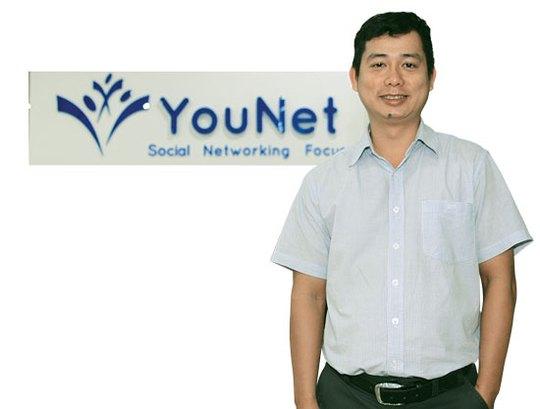 Nguyễn Anh Hòa đang đưa Công ty YouNet đi đến những thành công. Ảnh: Quang Liêm