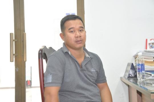 Nguyễn Thái Ngọc, chủ của 2 xưởng sản xuất nhớt giả vừa bị Công an quận 12, TP HCM bắt giữ vào sáng 18-1.