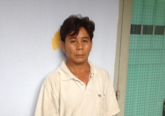 Đối tượng Nguyễn Thanh Hùng tại Công an huyện Bình Chánh – TP HCM.