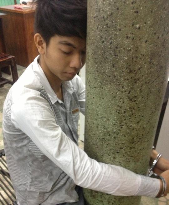 Nguyễn Bá Minh Hiếu bị bắt tại Công an quận Thủ Đức - TP HCM