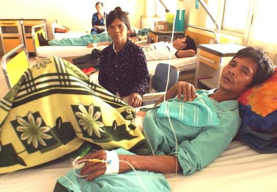 Ông Vư tại Bệnh viện Đa khoa Khánh Hòa