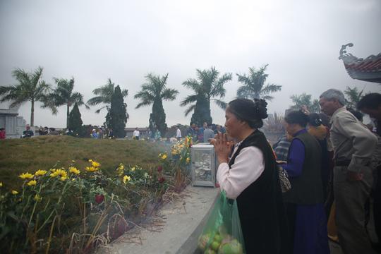 Mộ Tổ dòng họ Vũ-Võ của Việt Nam ở làng Mộ Trạch