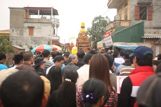 Ngày giỗ Tổ cũng là ngày hội của người dân làng Mộ Trạch