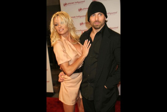 Pamela Anderson và Rick Salomon