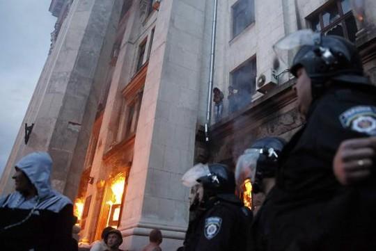 Đụng độ đẫm máu ởOdessa khiến nhiều người thương vong. Ảnh: Reuters