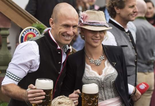 Robben và vợ