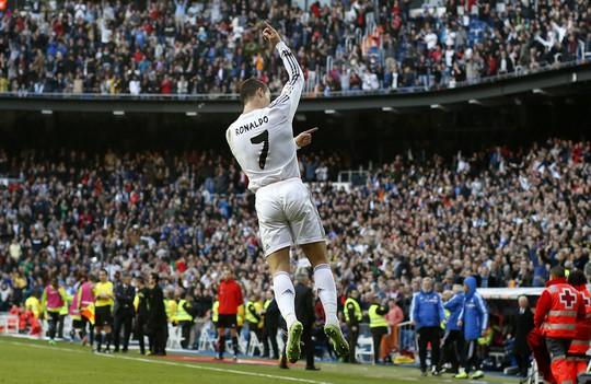 Ronaldo vẫn ghi bàn đều đặn cho Real