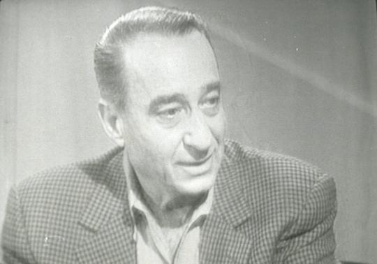 Ông Mike Harari qua đời năm 87 tuổi. Ảnh: Channel One