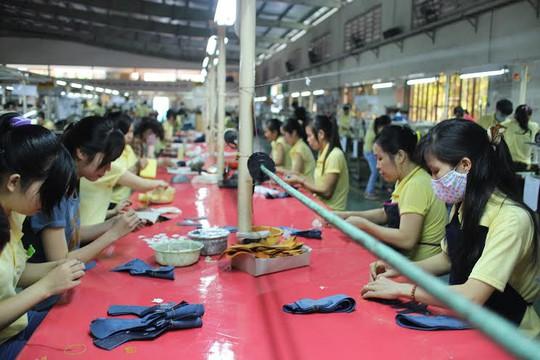 Hoạt động sản xuất tại Công ty Giày Trường Lợi (KCN Bình Chiểu, quận Thủ Đức, TP HCM) đã ổn định trở lại